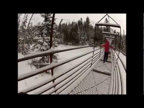 WINTER CAMP - LAKE SUPERIOR