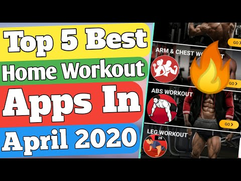 Top five Best Free home Workout Apps in 2020�� Top 5 best Home Fitness Apps in 2020��