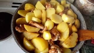 Рецепт приготовления куриных крылышек Как приготовить куриные крылья с картошкой вкусно Крылья