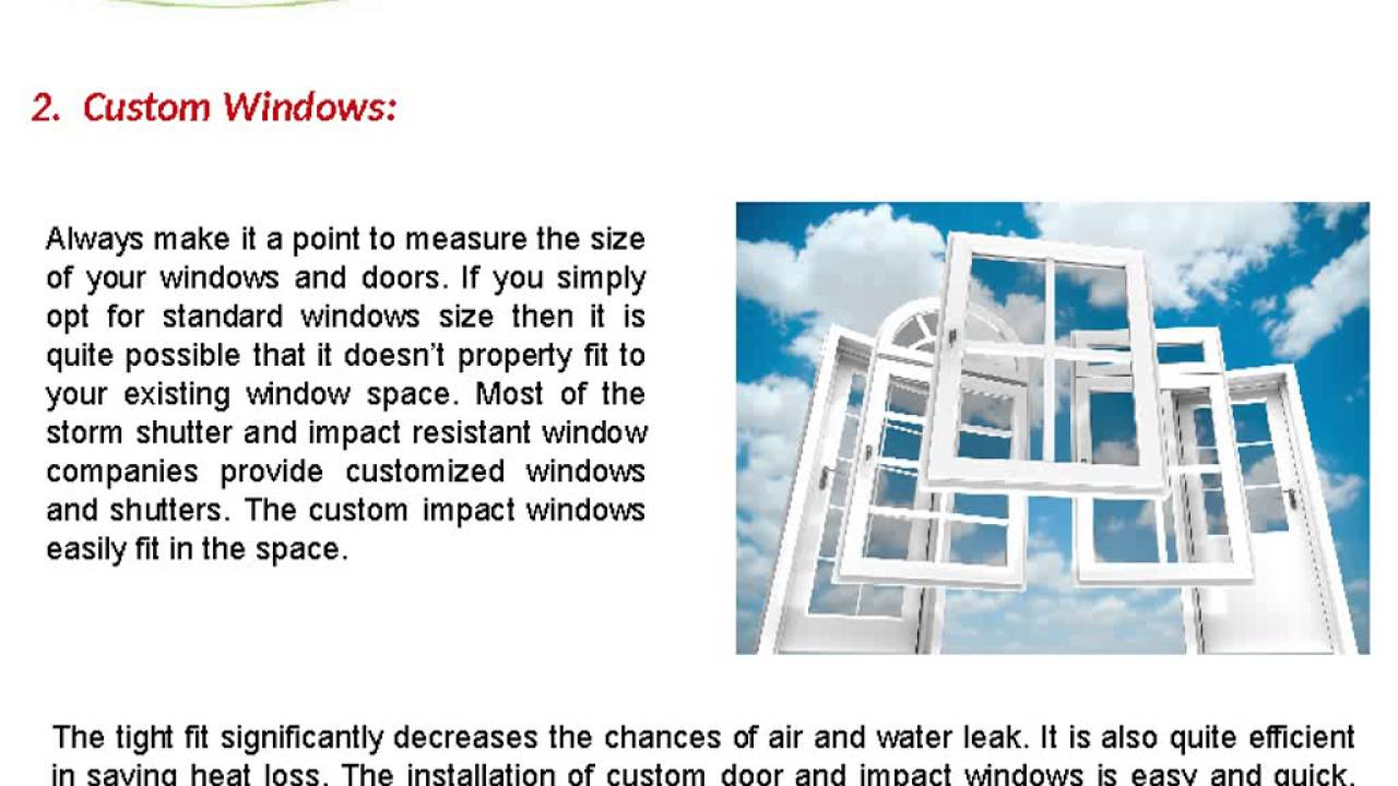 best impact windows top tips for selecting best impact windows home youtube
