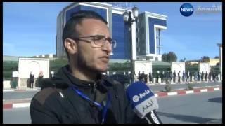 الأغواط: طلبة الهندسة المعمارية يحتجون خارج أسوار الجامعة