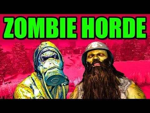 💀 HUGE ZOMBIE HORDE 💀 7 Days to Die PC Gameplay Horde Night