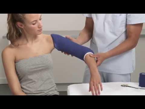 Plaster of Paris Humerus Splint Application