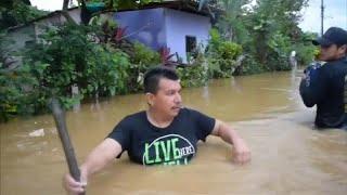 شاهد: قتلى في عاصفة مدارية تضرب جنوب المكسيك