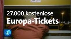 Freie Fahrt durch Europa - EU-Kommission verschenkt Interrail-Tickets