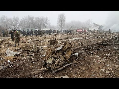 Turkish cargo plane crashes in residential area near Kyrgyz capital
