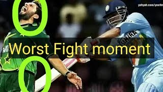 Fight Moment In Cricket