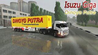 Isuzu Giga Angkut Trailer Dinoyo Putra || ETS2 INDONESIA