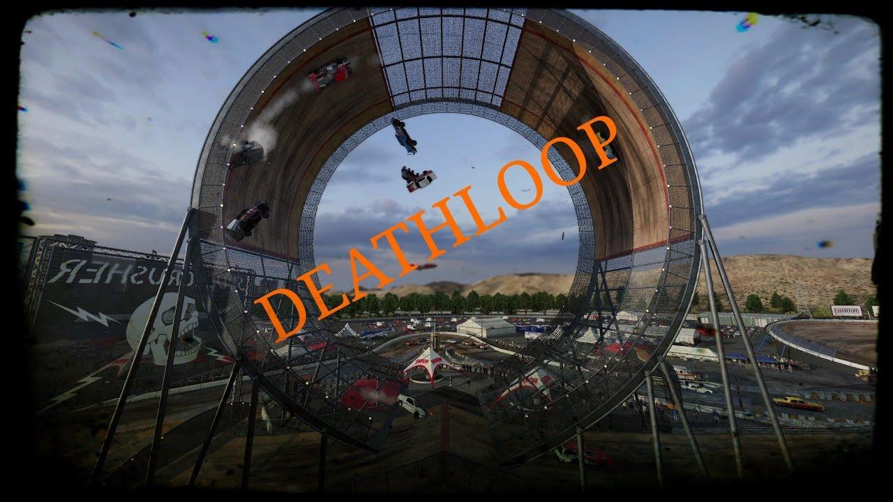 Wreckfest - Deathloop Main Circuit - PS4 PRO Gameplay (Realistic Damage) - YouTube