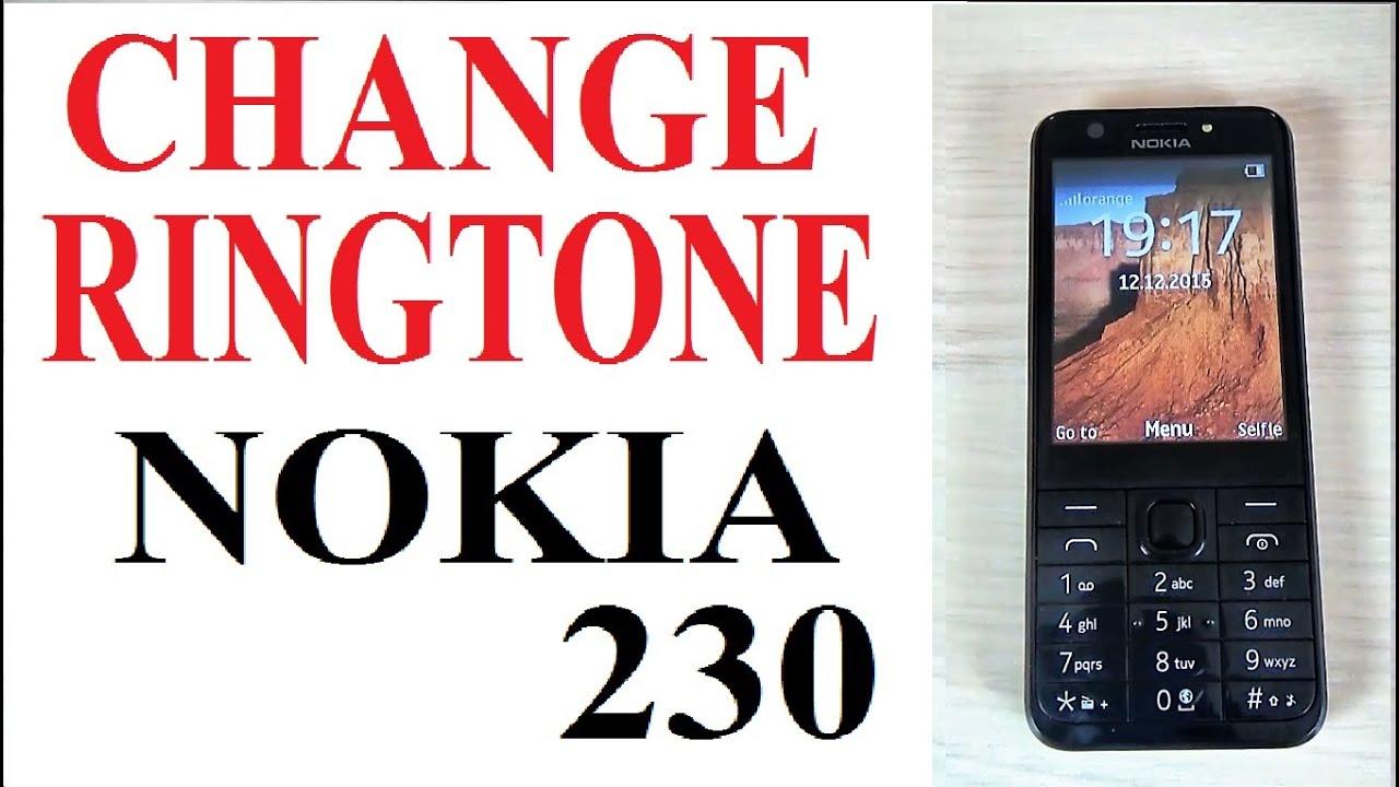 Nokia 230 How To Set Up Or Change Ringtone Youtube Asha 310 Dual Sim Resmi White