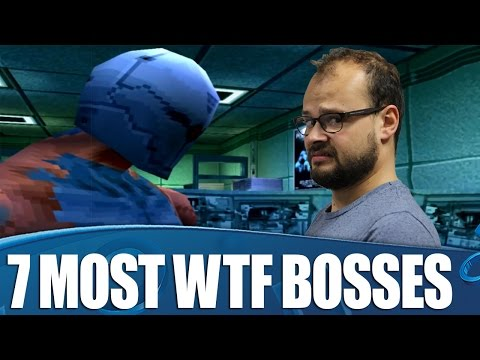 7 Most WTF Bosses in Videogames