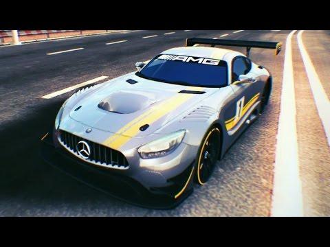 Asphalt 8 - Elite cars AMG GT3 (Monaco Rev.) 1:17.517