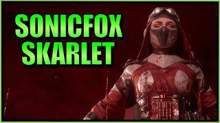 SonicFox - Having Fun With Skarlet Again 【Mortal Kombat 11】 / Видео