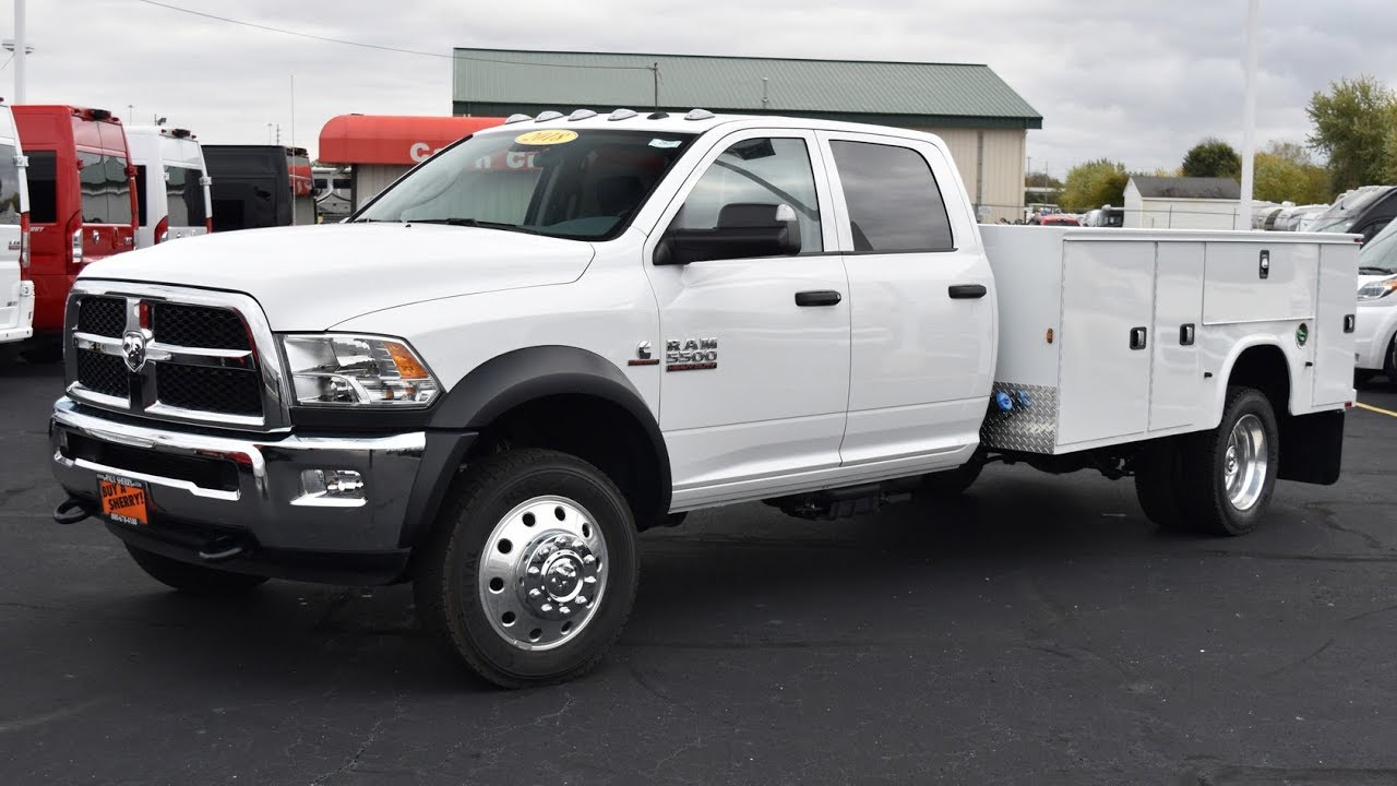Dodge Ram 5500 For Sale >> 2018 Ram 5500 Cummins - Knapheide Service Body For Sale