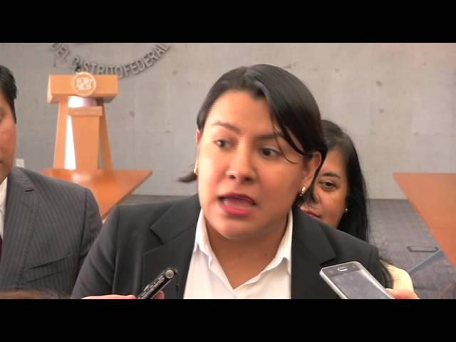 Entrevista a la Dra. Perla Gómez al finalizar la presentación de la Recomendación 14/2015