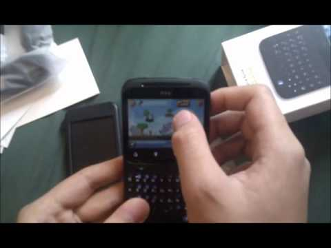 HTC ChaCha Unboxing & Games Test