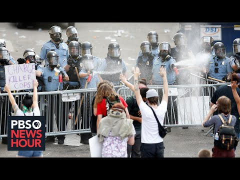 PBS NewsHour: 'We want justice' for George Floyd, local activist says as violence erupts in Minneapolis