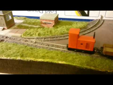 Alan Keef K12 on my industrial 009 layout.....