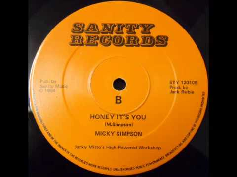 MICKY SIMPSON - HONEY IT'S YOU