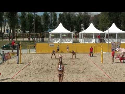 Beach Volleyball EEVZA 2014 Molodechno Motrich - Barsuk and Myshonkova - Shvedova
