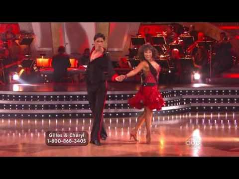 Gilles Marini and Cheryl Burke  Addicted to love