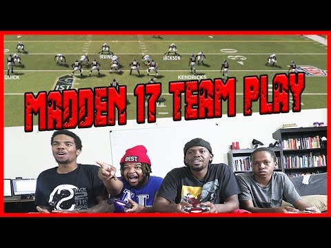 MADDEN 17 LOCAL TEAM PLAY! - Madden 17 Head 2 Head Multiplayer