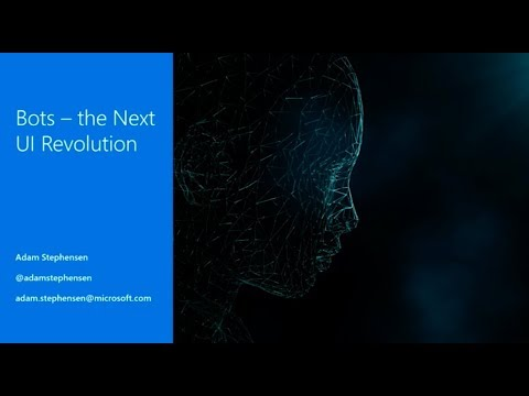 Bots - the next UI revolution - Adam Stephensen