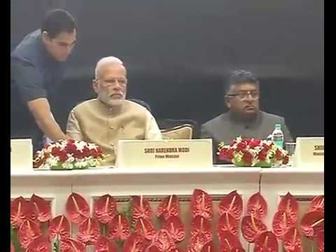 PM Modi at 50th anniversary of Delhi High Court in Vigyan Bh