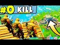 0 KILL CHALLENGE in Fortnite: Battle Royale (SKY STRATEGY) | Chaos
