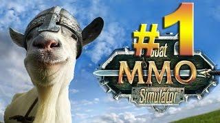 Goat MMO Simulator - La Leyenda de la Cabra Cabreadora - En español - Parte 1