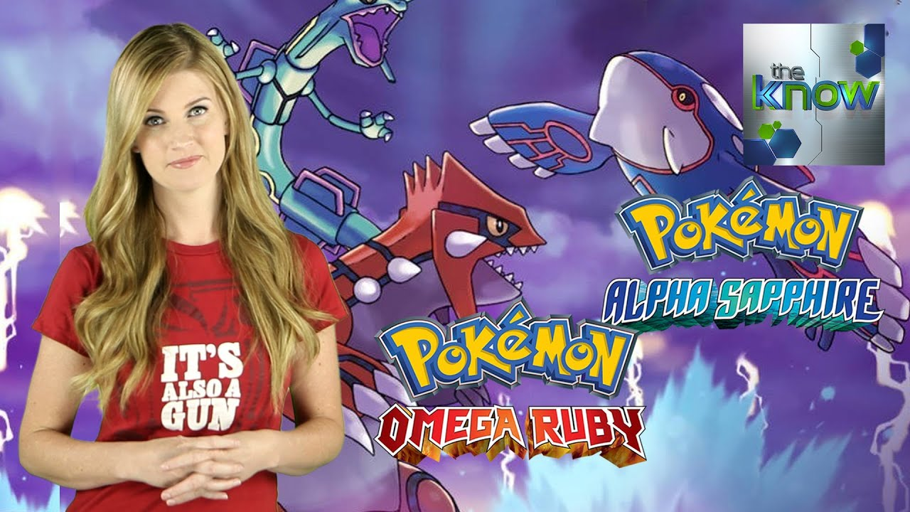 Pokémon Omega Ruby and Alpha Sapphire Announced  The Know