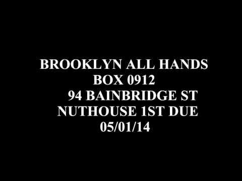 FDNY Audio: Brooklyn All Hands Fire Box 0912 94 Bainbridge St Nuthouse 1st Due