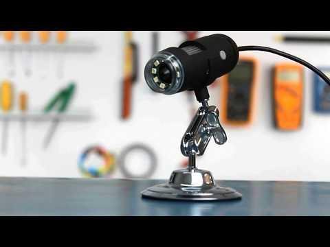 Microscópio Digital USB 2.0 Mega Pixels Com Zoom De 800X