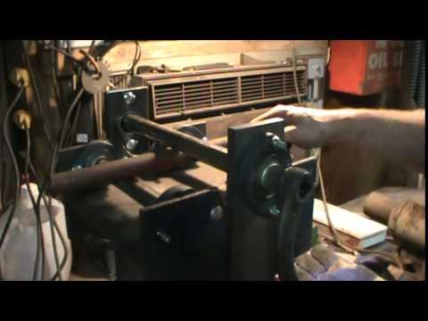 homemade metal bender/roller
