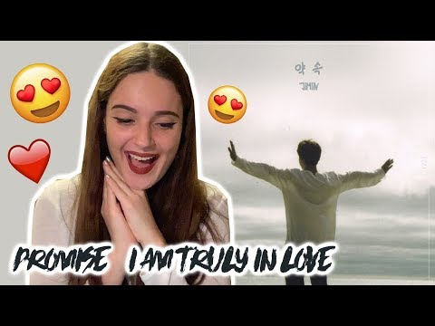 BTS JIMIN (지민) - Promise (약속) [REACTION VIDEO]