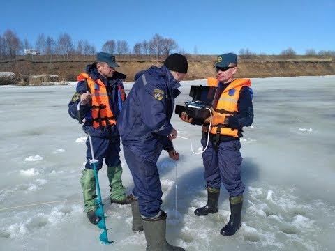 Обследование выпуска трубы сточных вод города Ядрин