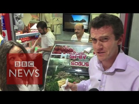 Eating sheep's brains: Bonkers or brave?  BBC News