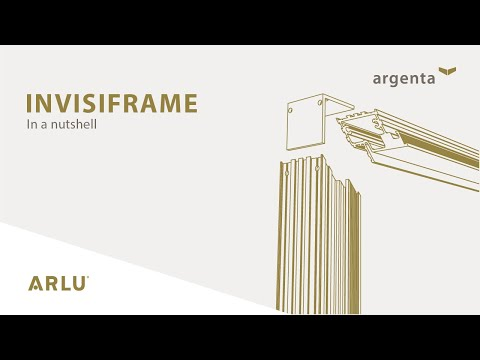 argenta invisiframe - Invisible aluminium frame for interior doors