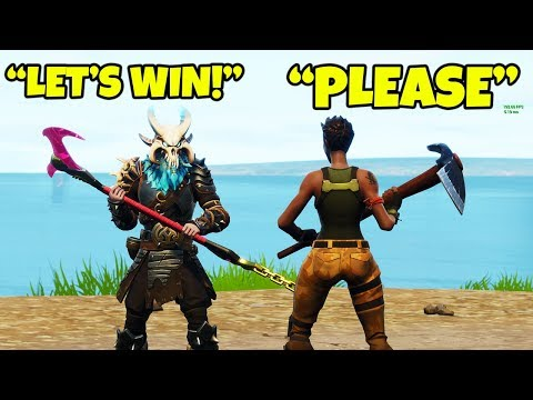 HELPED HIM WIN *FIRST* GAME OF FORTNITE IN SEASON 6!!! (Unlocking Webrella)