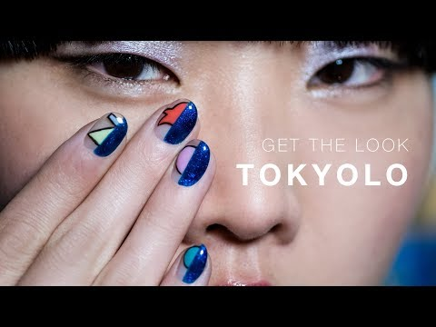 Japanese Pro Nail Art Tutorial with GelColor: Tokyolo thumbnail