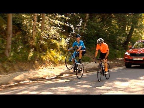 Pericopuerto Naturlandia Et.19 de La Vuelta 2018 con Marc Soler