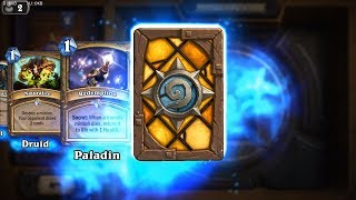 Flare - Classic Hearthstone rare card pack opening