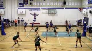 2012 BC Summer Games Indoor Girls Volleyball Finals - Zone 5 vs Zone 3 (Set 2)