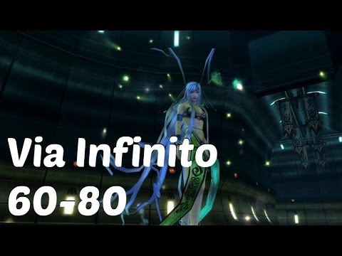 Final Fantasy X-2 HD Remaster English - Via Infinito 60-80 Walkthrough Chac Boss Fight