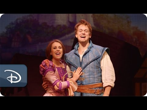 Raising the Curtain on 'Tangled: The Musical' | Disney Cruise Line