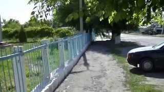 Тараз Джамбул ЗаЛиния. Видео панорама у школы им Гани Муратбаева
