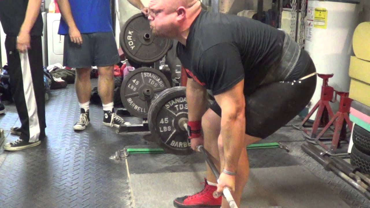 Aaron Tnt Strength 500 Deadlift Side View Youtube