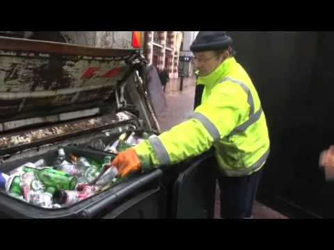 Below the waste line: Rolling with London's bin men
