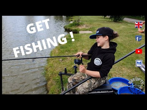 GET FISHING !! Easy Fishing At Lindholme Lakes | BagUpTV | Pleasure Session