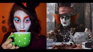 Halloween: Mad Hatter inspired makeup tutorial